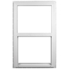 Ply Gem 2600 Series Vinyl Double Pane Single Strength New Construction Single Hung Window (Rough Opening: 36-in x 54-in; Actual: 35.5-in x 53.5-in)