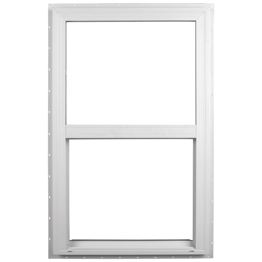 Shop ply gem windows 2600 sh series vinyl double pane for Single hung window