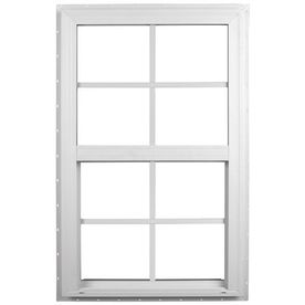 Ply Gem Windows 28-in x 38-in 2600 Series Vinyl Double Pane Single Hung Window