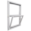 Ply Gem Windows 2600 Series Vinyl Double Pane Single Strength New Construction Single Hung Window (Rough Opening: 32-in x 38-in; Actual: 31.5-in x 37.5-in)