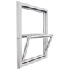 Ply Gem Windows 2600 Series Vinyl Double Pane Single Strength New Construction Single Hung Window (Rough Opening: 32-in x 54-in; Actual: 31.5-in x 53.5-in)