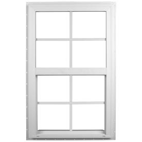 Ply Gem Windows 2600 SH Vinyl Double Pane Single Strength New Construction Single Hung Window (Rough Opening: 36-in x 38-in; Actual: 35.5-in x 37.5-in)