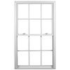Ply Gem 3600 DH Vinyl Double Pane Single Strength Replacement Double Hung Window (Rough Opening: 35.75-in x 53.75-in Actual: 35.5-in x 53.5-in)