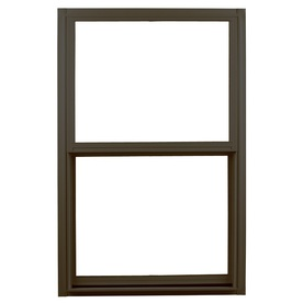 Ply Gem 1500 Series Aluminum Double Pane Single Strength New Construction Egress Single Hung Window (Rough Opening: 36-in x 60-in; Actual: 35.25-in x 59.25-in)