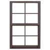 Ply Gem 1500 Series Aluminum Double Pane Single Strength New Construction Single Hung Window (Rough Opening: 37-in x 50.625-in; Actual: 36-in x 49.625-in)