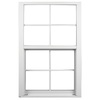 Ply Gem 1600 Series 1600 Aluminum Double Pane Single Strength New Construction Egress Single Hung Window (Rough Opening: 53.125-in x 50.625-in; Actual: 52.125-in x 49.625-in)