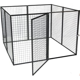 Options Plus 6-ft x 6-ft x 4-ft Outdoor Dog Kennel Box Kit