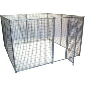 Options Plus 10-ft x 10-ft x 6-ft Outdoor Dog Kennel Box Kit