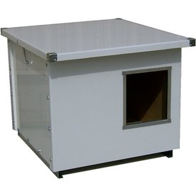 Options Plus X-Large Metal Insulated Dog House
