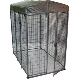 Options Plus 6-ft x 4-ft x 6-ft Outdoor Dog Kennel Box Kit