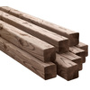 Severe Weather #2 Pressure Treated Lumber (Common: 6 x 6 x 8; Actual: 5-1/2-in x 5-1/2-in x 96-in)