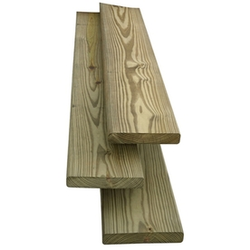 Severe Weather Standard Ecolife Treated Decking (Common: 5/4-in x 6-in x 10-ft; Actual: 1-in x 5.5-in x 120-in)