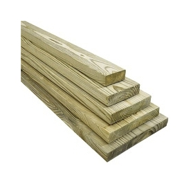 Top Choice 1 x 4 x 8 Appearance Grade Pressure Treated Lumber