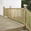 Top Choice Mitered Acq – Alkaline Copper Quat Treated Deck Baluster (Common: 2-in x 2-in x 36-in; Actual: 1-3/8-in x 1-3/8-in x 36-In)