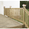 Top Choice Square Acq – Alkaline Copper Quat Treated Deck Baluster (Common: 2-in x 2-in x 42-in; Actual: 1-3/8-in x 1-3/8-in x 42-In)
