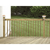 Top Choice Mitered Acq – Alkaline Copper Quat Treated Deck Baluster (Common: 2-in x 2-in x 42-in; Actual: 1-3/8-in x 1-3/8-in x 42-In)