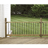 Top Choice Double Groove ACQ Alkaline Copper Quat Treated Deck Post (Common: 4-in x 4-in x 48-in; Actual: 3.25-in x 3.25-in x 48-in)