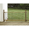 Top Choice Gothic ACQ Alkaline Copper Quat Treated Deck Post (Common: 4-in x 4-in x 48-in; Actual: 3.25-in x 3.25-in x 48-in)