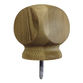 Top Choice Deck Post Cap (Fits Common Post Measurement: 4-in x 4-in; Actual: 3.25-in x 4-in)