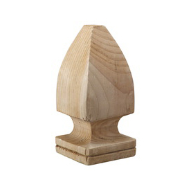 Top Choice Deck Post Cap (Fits Common Post Measurement: 4-in x 4-in; Actual: 3-in x 6.75-in)