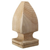 Top Choice Pressure Treated Pine Deck Post Cap (Fits Common Post Measurement: 4-in x 4-in; Actual: 3-in x 3-in x 6.75-in)