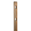 Severe Weather Pressure Treated Pine Fence Line Post (Common: 5-in x 3-in x 5-1/3-ft; Actual: 5-in x 2.5-in x 5.33-ft)