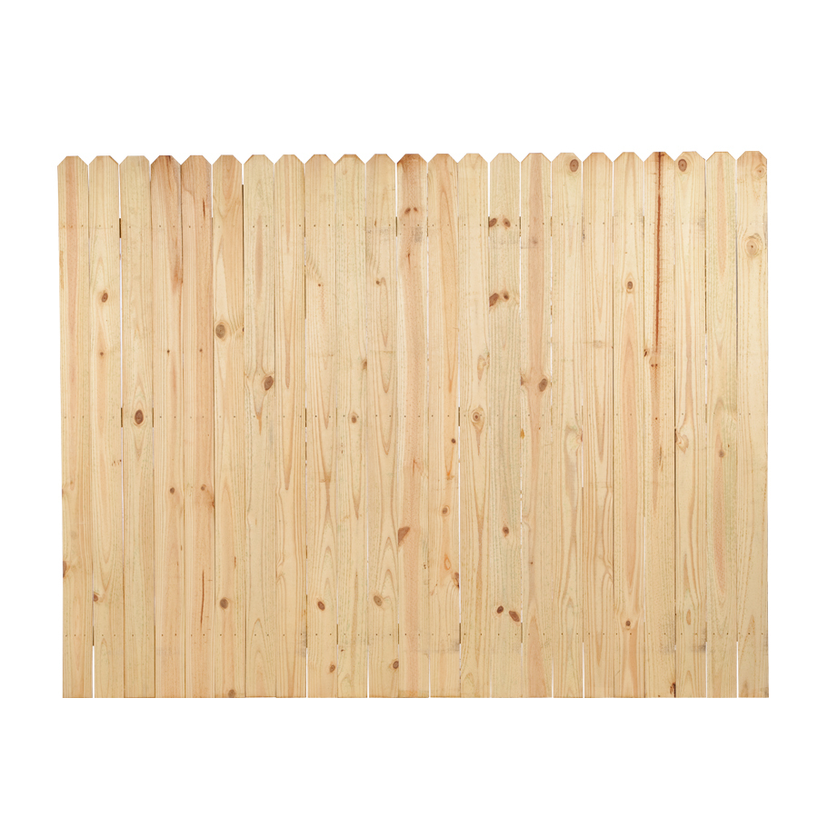 Wood Fence Panel Common 6 Ft X 8 Ft Actual 6 Ft X 8 Ft At Lowes