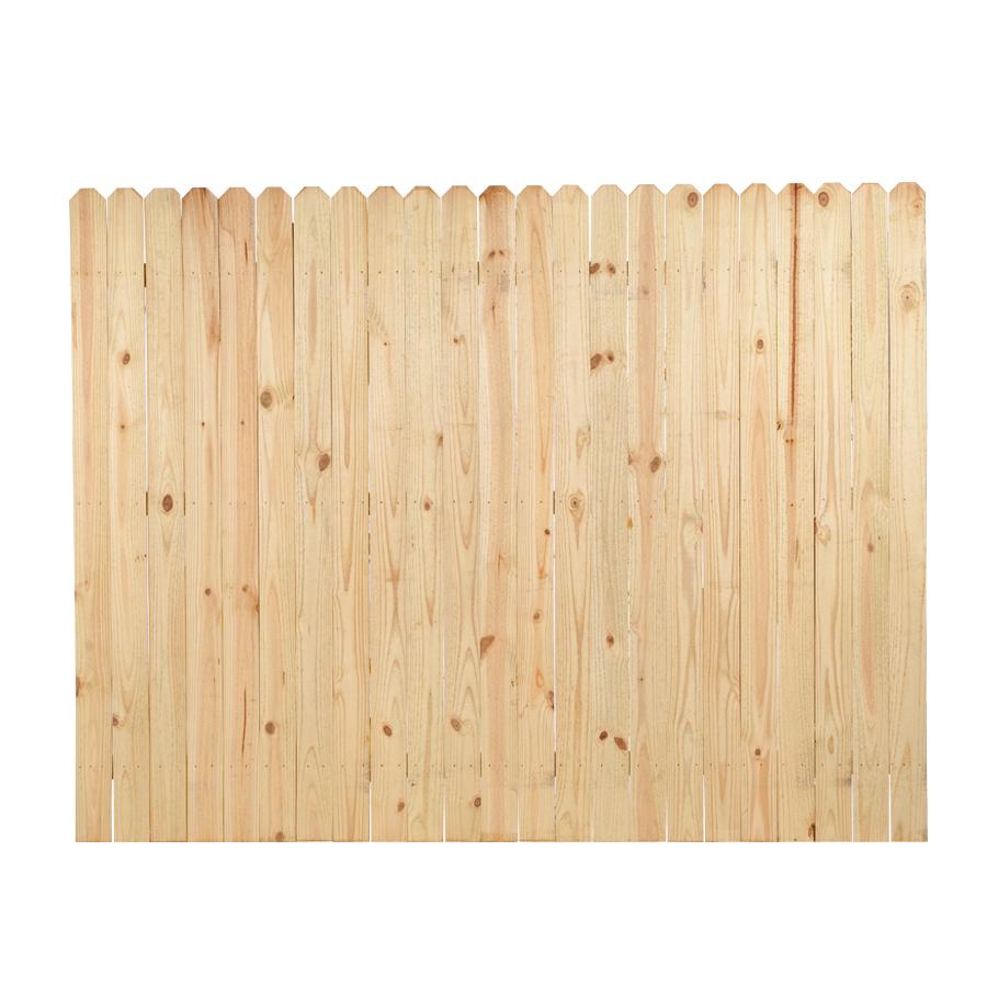 Shop Pine Stockade Pressure Treated Wood Fence Panel