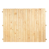 6-ft x 8-ft Pine Dog-Ear Wood Fence Panel