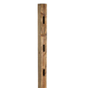 Severe Weather Pressure Treated Wood Pine Fence Post (Actual: 4-in x 7-ft)
