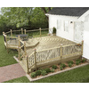 Severe Weather Standard Alkaline Copper Quat Treated Decking (Common: 5/4-in x 6-in x 12-ft; Actual: 1.25-in x 6-in x 144-in)