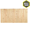 Severe Weather Pressure Treated Pine Wood Fence Panel (Common: 8-ft x 4-ft; Actual: 8-ft x 4-ft)