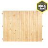 Severe Weather Pressure Treated Pine Wood Fence Panel (Actual: 8-ft x 6-ft)
