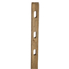 Pressure Treated Pine Fence Line Post (Common: 5-in x 3-in x 7-ft; Actual: 5-in x 2.5-in x 7-ft)