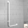 Ponte Giulio USA Glossy Biscuit Wall Mount Grab Bar