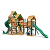 Gorilla Playsets Wooden Treasure Trove Playset with 2 Swings