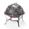 Good Directions Starry Night 25.5-in W Steel Wood-Burning Fire Pit