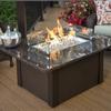 Outdoor Greatroom Company 36-in W 65,000-BTU British Copper Metal Liquid Propane Fire Table