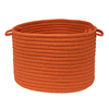 Colonial Mills 14-in W x 14-in D x 10-in H Rust Plastic Basket