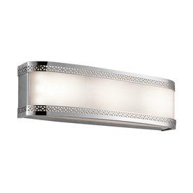 Shop Kichler Lighting 1-Light Contessa Chrome LED Bathroom Vanity Light at Lowes.com