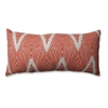 Pillow Perfect 11.5-in W x 23-in L Mandarin Rectangular Indoor Decorative Pillow