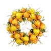 Fantastic Craft 20-in Fruit Artificial Thanksgiving Wreath
