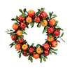 Fantastic Craft 23-in Fruit Artificial Thanksgiving Wreath