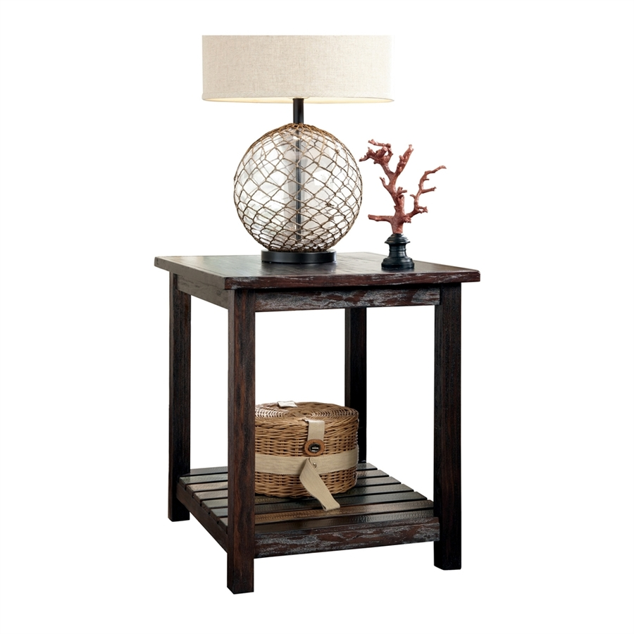 Signature Design by Ashley Mestler Coffee Table Rustic Brown
