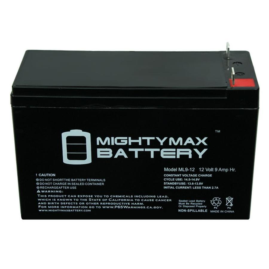 Mighty Max Battery 12V 9AH Battery for Outdoor Solutions Novus Micro Secure 100-4 Pack Brand Product