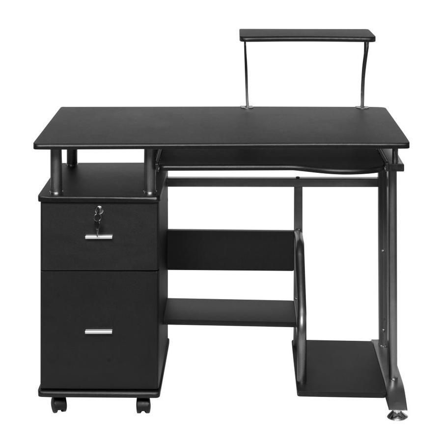 OneSpace Rothmin Modern/Contemporary Black Computer Desk