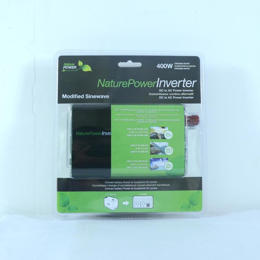 Nature Power 38204 Modified Sine Wave Inverter 400-watt