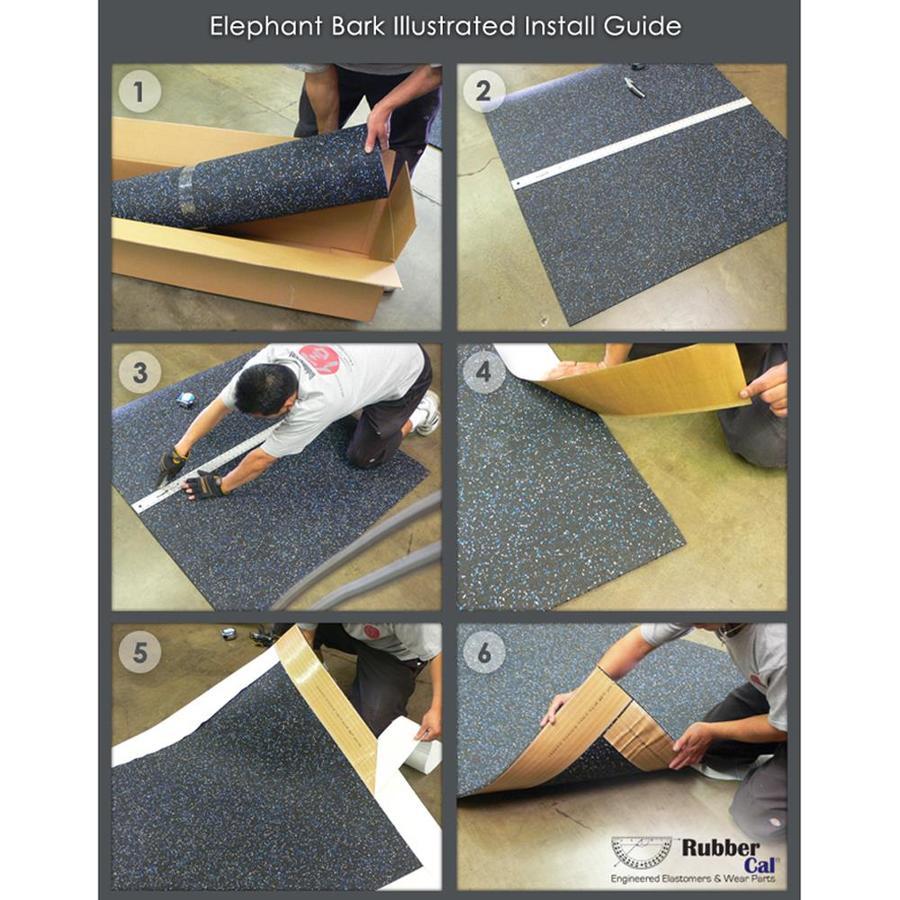 Rubber-Cal Elephant Bark Flooring