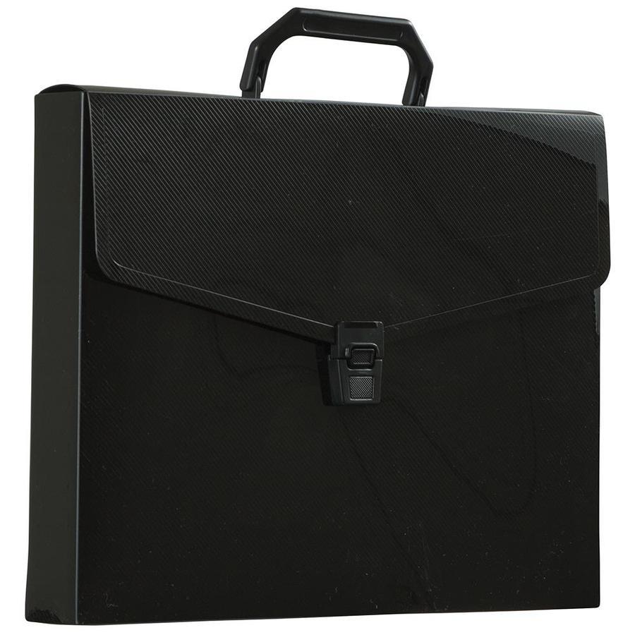 Poly Bag Guy Stitched Job Ticket Holders 12 x 15 Black 25//Case