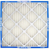 Flanders 12-Pack 20-in x 10-in x 1-in Pleated Ready-to-Use Industrial HVAC Filter